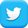 Twitter social media icon button