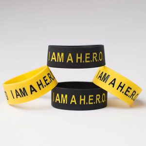 I am a HERO Inspirational Wristbands