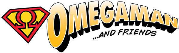 Omegaman and Friends Logo